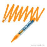 Solo Goya TRITON - Acrylic Paint Marker 1-4 mm Einzelfarbe | Fluoreszierend Orange
