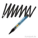 Solo Goya TRITON - Acrylic Paint Marker 1-4 mm Einzelfarbe | Schwarz
