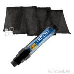 Solo Goya TRITON - Acrylic Paint Marker 15 mm Einzelfarbe | Schwarz