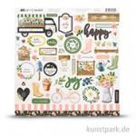 Spring Market Collection - Sticker, 30,5 x 30,5 cm