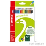 STABILO GREENcolors Buntstift 18er Etui