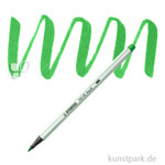 STABILO Pen 68 brush Einzelfarben Filzstift | Hellgrün
