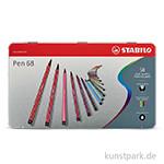 STABILO Pen 68 Filzstift 50er Metalletui