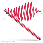 STABILO Pen 68 Filzstift Einzelstift | Dunkelrot