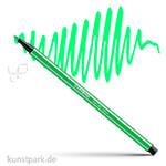 STABILO Pen 68 Filzstift Einzelstift | Leuchtfarbengrün