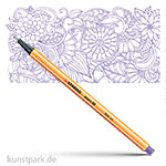 STABILO Point 88 Fineliner Einzelstift | Violett