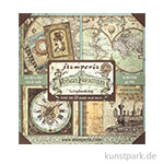 Stamperia Scrapbooking Maxi Pad - Voyages Fantastiques, 30,5 x 30,5 cm