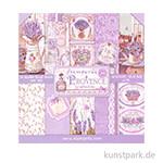 Stamperia Scrapbooking Pad - Provence, 30,5 x 30,5 cm, 10 Blatt
