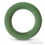 Steckschaum - Ring mit Plastikunterlage, 25 cm, Dicke 3,5 cm
