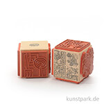 Stempel - Moderne Muster und Ornamente - Würfel