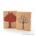 Stempel - Winterbaum - 9x11 cm