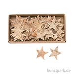 Sterne aus Birkenrinde, 5cm, 80 Stück