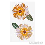 Sticker - Nature Matters Blüten, 4 Blatt