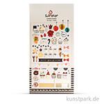 Sticker - Sweet, 15x9,2 cm