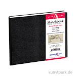 Stillman & Birn Skizzenbuch ALPHA, 62 Blatt, 150 g 22,9 x 15,2 cm, quer