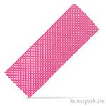 Stoffzuschnitt 100x150 cm - Gepunktet Pink