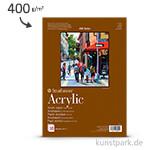 Strathmore Artist Paper 400 - Acrylmalpapier, 10 Blatt, 400g
