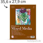 Strathmore Artist Paper 400 - Mixed Media Papier, 15 Blatt, 300g 35,6 x 27,9 cm
