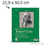 Strathmore Artist Paper 400 - Skizzenpapier Grey, 118g 22,9 x 30,5 cm - 50 Blatt