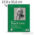Strathmore Artist Paper 400 - Skizzenpapier Grey, 118g 27,9 x 35,6 cm - 24 Blatt