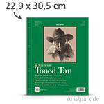 Strathmore Artist Paper 400 - Skizzenpapier Tan, 118g 22,9 x 30,5 cm - 50 Blatt