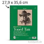 Strathmore Artist Paper 400 - Skizzenpapier Tan, 118g 27,9 x 35,6 cm - 24 Blatt