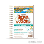 Strathmore Visual Journal 400 - Aquarellpapier, 34 Seiten, 190g 14 x 20,3 cm