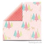 Sugar Plum - Scrapbookingpapier 190 g 30,5 x 30,5 cm | Wintry