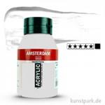 Talens AMSTERDAM Acrylfarben 1 Liter Flasche | 105 Titanweiß