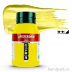 Talens AMSTERDAM Acrylfarben 1 Liter Flasche | 275 Primärgelb