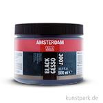 Talens AMSTERDAM Gesso schwarz 500 ml