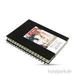 Talens Art Creation - Skizzenbuch Spiral, 80 Blatt, 110g 14 x 21 cm