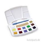 Talens ARTcreation Aquarellfarben Pocketbox mit 12 Näpfchen