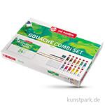 Talens ARTcreation Gouache Kombi-Set mit 12 Tuben 12 ml und Zubehör