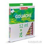 Talens ARTcreation Gouache Set mit 24 Tuben 12 ml