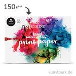 Talens ECOLINE - Water Colour Print Paper, DIN A4, 150g, 75 Blatt
