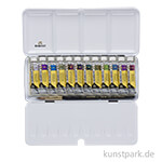 Talens REMBRANDT Aquarellfarben Set - Irisierende Farben, 12 x 10 ml Tuben