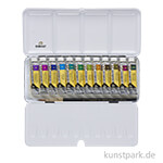 Talens REMBRANDT Aquarellfarben Set - Metallische Farben, 12 x 10 ml Tuben