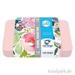 Talens VAN GOGH Aquarell Pocket Box - Frau Hölle Edition Floral