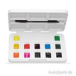 Talens VAN GOGH Aquarell Pocket Box Intensive Farben mit 12 halben Näpfen
