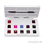 Talens VAN GOGH Aquarell Pocket Box Pinks & Violets mit 12 halben Näpfen