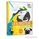 Tierisch Geometrisch - Lieblingstiere ausmalen, Edition Fischer