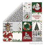 Tis the Season - Scrapbookingpapier 190 g 30,5 x 30,5 cm | Greetings