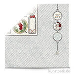 Tis the Season - Scrapbookingpapier 190 g 30,5 x 30,5 cm | Peace