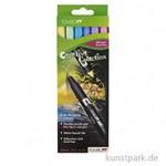 Tombow Dual Brush Pen - Set 6 Pastellfarben