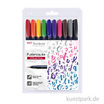 Tombow Fudenosuke Brush Pen - 10er Set