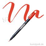Tombow Fudenosuke Brush Pen - Hart Einzelstift | Rot