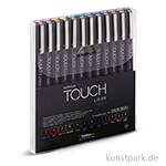 Touch Liner Brush Set mit 12 verschiedenen Farben