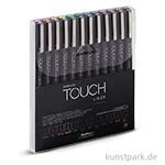 Touch Liner Color 0,1 mm Set mit 12 verschiedenen Farben