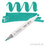TOUCH Twin Brush Marker Einzelfarbe   BG53 - Turquoise Green